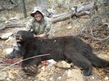 Black Range Mountains (GMU 21) Black Bear, 20 August 2011, Michael Sandoval.
