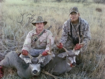 2010 mule deer SE NM, Seth Rogers and Roy Bell.