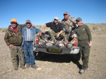"A successful hunt for ""The Boys"" on a November rifle hunt in Southeastern NM."