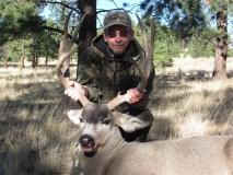 Bob Lowder with his northern NM Mule Deer