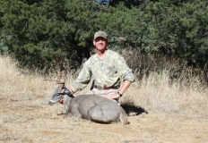 Storm with his 2010 Coues Deer.