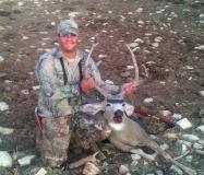 Matt Arreola with his GMU 30 muzzleoader buck.
