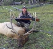 Gary Ray with his GMU 6C rifle bull elk. Great job Gary!