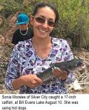 fishing-report-Bill-Evans-Lake-catfish-08_14_2018-NMDGF