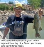 fishing-report-Storrie-Lake-largemouth-bass-07_24_2018-NMDGF