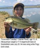 fishing-report-Stubblefield-Lake-largemouth-bass-08_21_2018-NMDGF