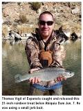 fishing-report-abiquiu-lake-rainbow-trout-01-14-2020-NMDGF