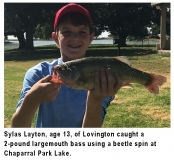 fishing-report-chaparral-park-lake-largemouth-bass-08_06_2019-NMDGF