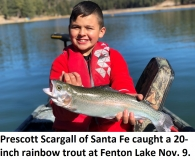 fishing-report-fenton-lake-rainbow-trout-11-12-2019-NMDGF