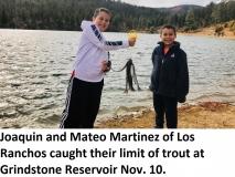 fishing-report-grindstone-reservoir-trout-11-12-2019-NMDGF