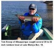 fishing-report-lake-maloya-rainbow-trout-11-26-2019-NMDGF
