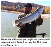 fishing-report-santa-cruz-lake-rainbow-trout-10-29-2019-NMDGF