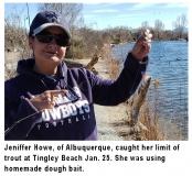 fishing-report-tingley-beach-trout-01-28-2020-NMDGF