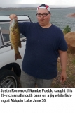 fishing-report-Abiquiu-Lake-smallmouth-bass-07_05_2016-NMDGF