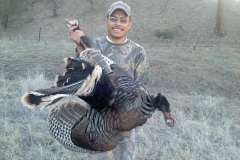 Lupe Renteria with his 2012 turkey.