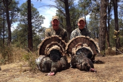 Tim Heidrick and Jeff Fell with opening morning double in the Gila. Congrats guys!