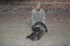 2011 success on turkeys killed in Sacramentos around Weed, Roy Bell.