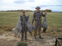 Crazy for cranes! Twenty-two young hunters harvested 39 sandhill cranes Nov. 12 during the youth crane hunt at the Bernardo/Casa Colorada Wildlife Areas.