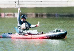 For anglers wishing to try kayak fishing, Elephant Butte rents kayaks, providing an opportunity to test the waters before investing heavily in equipment. Among the benefits of kayak fishing is being able to reach locations not accessible from the shore. New Mexico Wildlife magazine, NMDGF