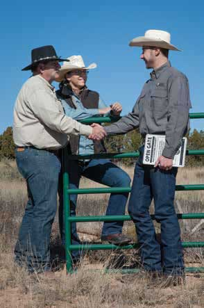 Those with questions, or wanting to apply should contact Ryan Darr, Open Gate coordinator (right), at (888) 248-6866 or visit the department website at www.wildlife.state. nm.us.  New Mexico Wildlife magazine, NMDGF.