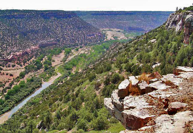 While it might be a little difficult to find, Mills Canyon provides an opportunity to spend time outdoors without another person in sight. New Mexico Wildlife magazine, NMDGF