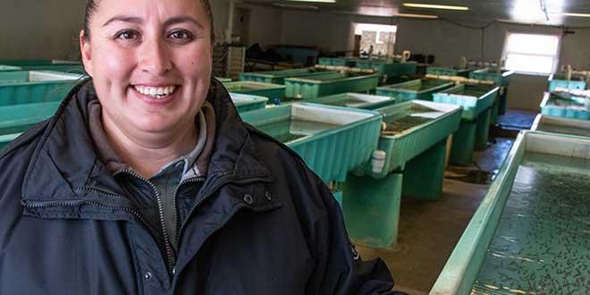 Q&A: Meet Francina Martinez-Valencia, Lisboa Springs Hatchery Manager
