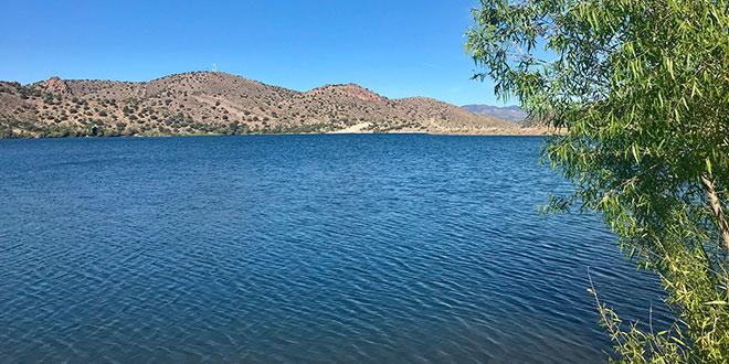 Escondida Lake: Department photo by Martin Perea.
