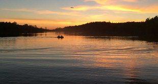 Lake Roberts. Department photo. NMDGF